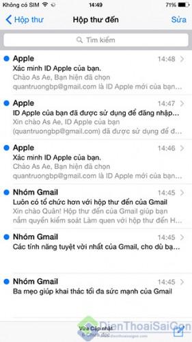 Tạo tài khoản ID Apple (iTunes) miễn phí trực tiếp trên iPhone