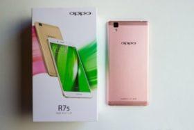 """Oppo R7s phiên bản màu hồng """"nam tính"""" đã xuất hiện ở thị trường Việt"""