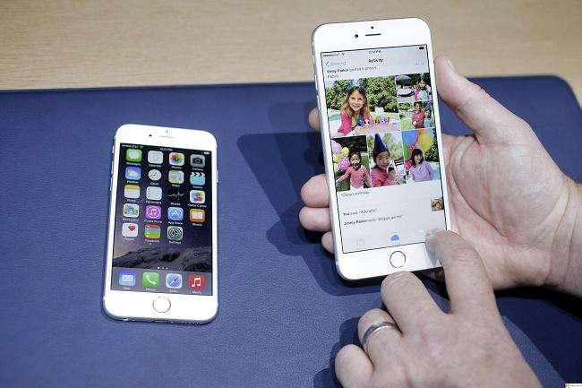 Kết quả hình ảnh cho màn hình iphone 6 bị giật