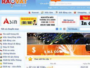 """Raovat.com, dự án """"liệu cơm gắp mắm"""" kiếm tiền lẻ của Dzũ Khánh."""