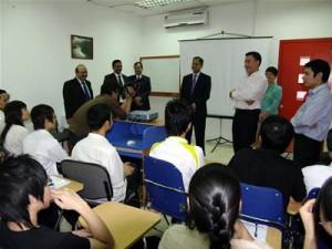 Một lớp đào tạo LTV tại Aptech Việt Nam - Ảnh: Thiện Phúc