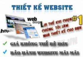 Một quảng cáo thiết kế trang web giá rẻ trên mạng. Ảnh minh họa.