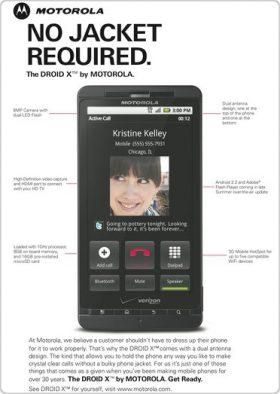 """Motorola tung quảng cáo Droid X """"trả đũa"""" Apple"""