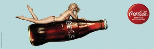 Ảnh quảng cáo Coca-Cola