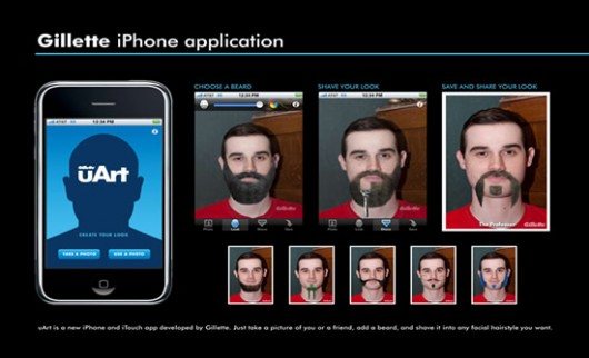 Gillette iPhone Application