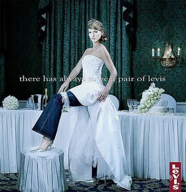 Ảnh quảng cáo của Levi's