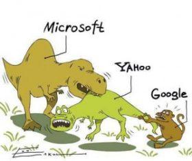 Microsoft ngăn cản Google và Yahoo Nhật hợp tác