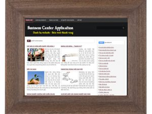 Website business center application