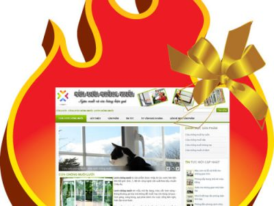 Website cửa lưới muỗi