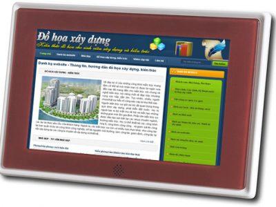 Website đồ họa xây dựng