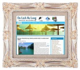 Website du lịch Vịnh Hạ Long