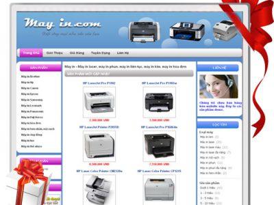Website máy in