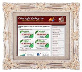 Thiết kế web Công nghệ quảng cáo