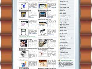 Thiết kế web kỹ năng kinh doanh