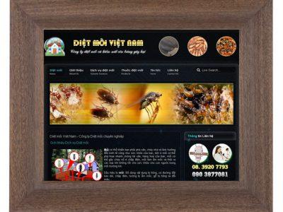 Dự án thiết kế web diệt mối Việt Nam
