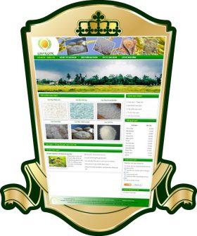 Thiết kế web gạo ngon