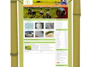 Website Gạo Việt - Gạo ngon