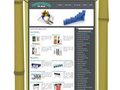 Thành lập hệ thống website doanh nghiệp