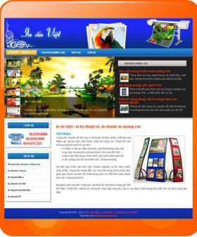 Thiết kế web in ấn Việt