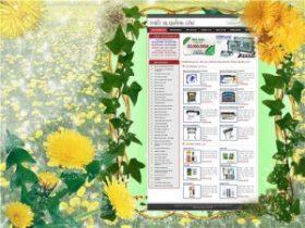 Thiết kế web vật tư quảng cáo - Thông tin doanh nghiệp