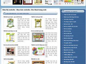 Xây dựng hệ thống siêu thị website