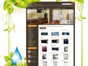 Thiết kế web nội thất nhà bếp