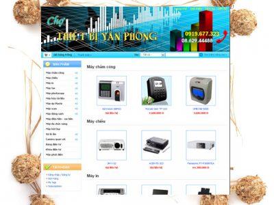 Website chợ thiết bị văn phòng