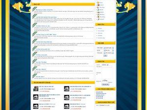 Thiết kế web đại lý nhà đất