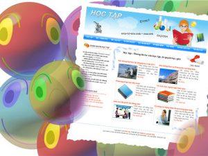 Thiết kế website học tập