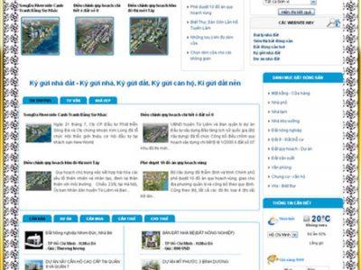 Xây dựng website ký gửi nhà đất