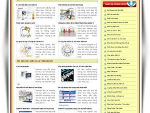Web kỹ thuật thiết kế website