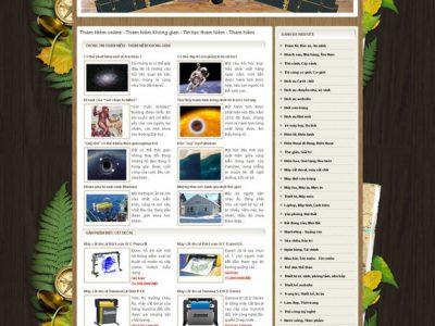 Website thám hiểm online