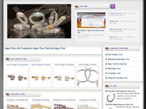 Dự án thiết kế web Ngọc Trai