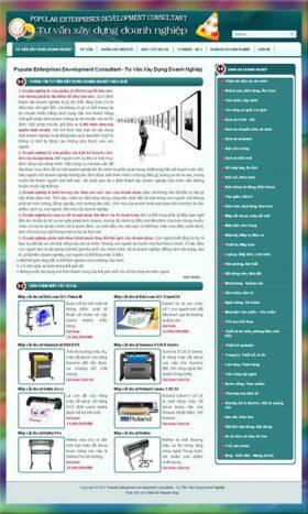 Web tư vấn xây dựng doanh nghiệp