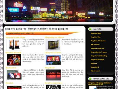 Xây dựng web bảng hiệu quảng cáo