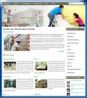 Thiết kế website sửa nhà đẹp