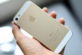 FPT thay đổi giá iPhone 5s màu vàng đồng