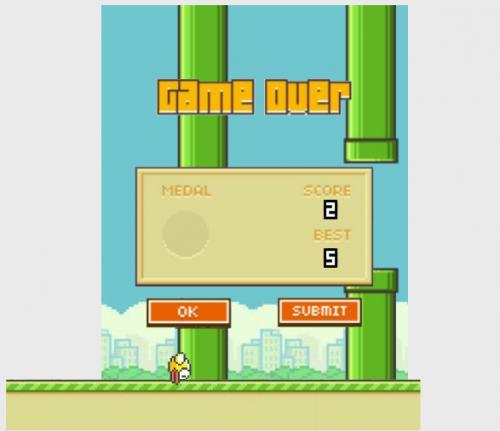 chơi game flappy bird