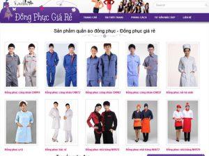 May đồng phục giá rẻ
