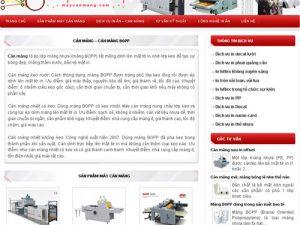 Máy cán màng - Máy cán màng nhiệt: MayCanMang.com