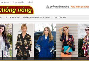 Áo chống nắng - Phụ kiện áo chống nóng: Aochongnong.com