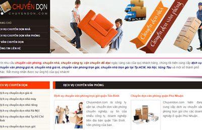 Chuyển nhà - Chuyển văn phòng: Chuyendon.com