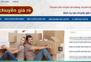 Chuyển nhà, chuyển văn phòng trọn gói: Vanchuyengiare.com