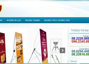 Khung ảnh, khung tranh, khung treo quảng cáo đẹp: Khung.com.vn
