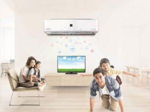 Nguyên tắc dùng điều hòa nhiệt độ cho trẻ: Lapdieuhoa.com