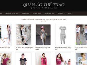Thời trang thể thao - Mẫu đồng phục thể thao: Quanaothethao.com