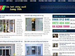 Cửa lưới chống muỗi, côn trùng: Cualuoichongmuoi.com