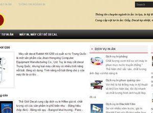 In lụa - Kỹ thuật in lụa - Máy in lụa: Inlua.com