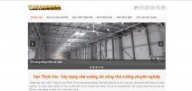 Dịch vụ nhà xưởng - Thiết kế, thi công nhà xưởng - Nhà thép tiền chế