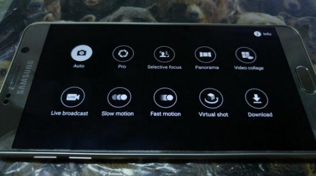 Trải nghiệm cảm biến camera kích cỡ lớn với Galaxy Note 5
